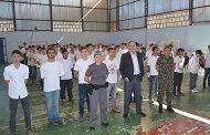 Executivo e Legislativo prestigiam cidadãos Sambentistas em Cerimônia de dispensa do Serviço Militar