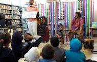 Viagem Literária trouxe contação de histórias na Biblioteca Municipal