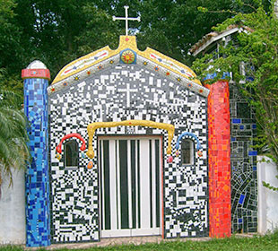 capelinha-de-mosaico