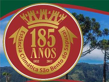São Bento do Sapucaí 185 Anos - Programação do aniversário da cidade