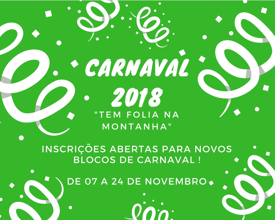 Comunicado Blocos do Carnaval