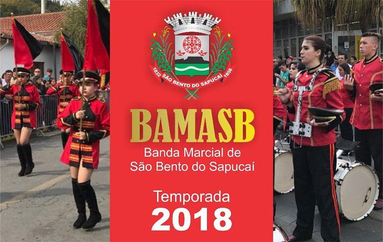 Banda Marcial de São Bento inicia atividades deste ano
