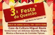 3ª Festa do Quentão em São Bento do Sapucaí. Confira!