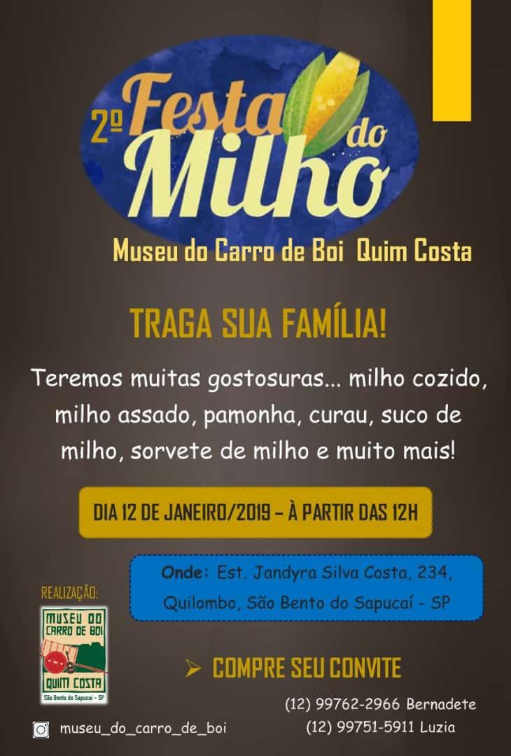 FESTA DO MILHO 2019