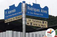 Placas de sinalização e iluminação do trevo são novidades em São Bento do Sapucaí