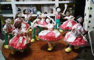 Espaço Eugênia Sereno recebe exposição de bonecos de papel