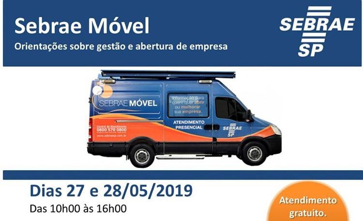 São Bento recebe SEBRAE móvel em maio