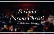 Feriado de Corpus Christi em São Bento do Sapucaí