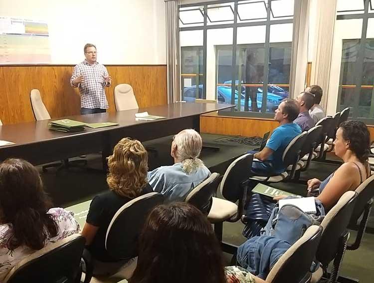 Produtores Rurais participam de palestra sobre Planejamento