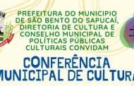 1ª Conferência Municipal de Cultura acontece dia 06 de março