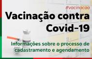 O processo de agendamento da Vacinação contra Covid-19