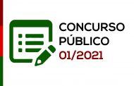 Prefeitura abre o Concurso Público 001/2021